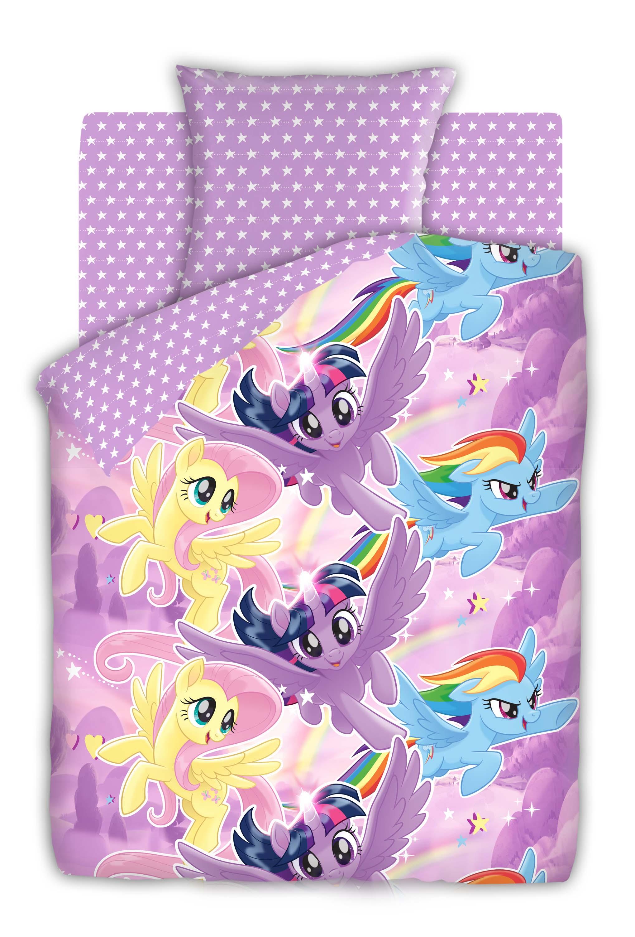 My Little Pony - Небесные пони арт. 8920-1/8921-1, Разное - постельное белье детское - БЯЗЬ (ГОСТ), Непоседа, из бязи, детское