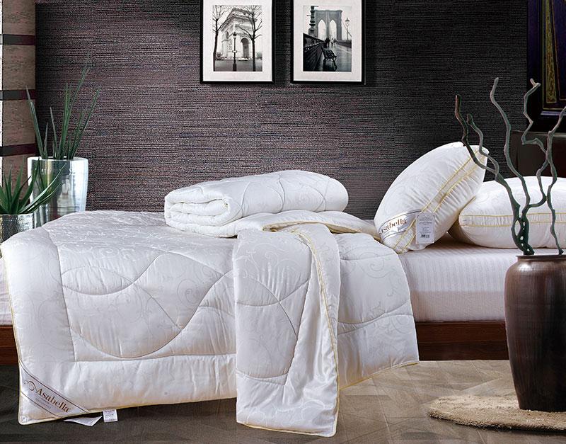 Одеяло Asabella тенсел (эвкалипт), верх - тенсел, размер 145х205см, арт.Т-1, Эвкалиптовые одеяла, Асабелла, из тенсела (эвкалипт)