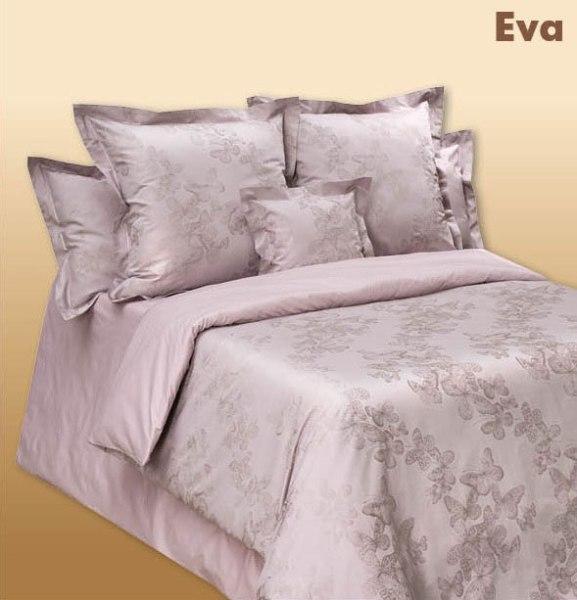 Постельное белье EVA (CD Milan Jacquard) ева с 4-мя наволочками, Сатин-жаккард от Cotton-Dreams, Коттон Дримс, из сатина, из жаккарда, элитное
