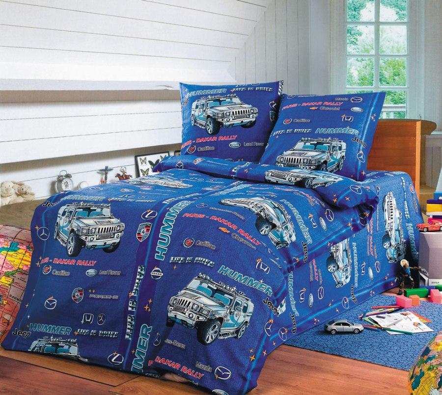 ХАММЕР (HUMMER), Разное - постельное белье детское - БЯЗЬ (ГОСТ), Текс-Дизайн, из бязи, детское