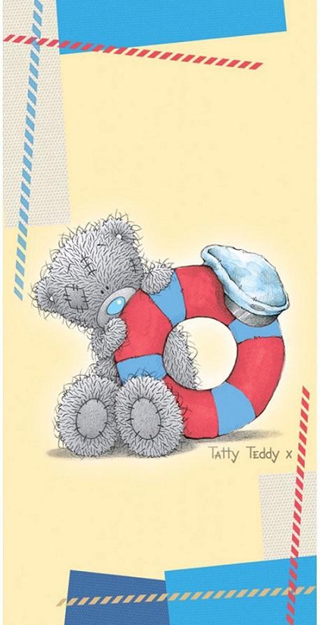 Полотенце для душа MonaLiza TEDDY морячок 70х140см, арт. 508950/2, Банные полотенца: бамбуковые, махровые. Детские и для взрослых, Мона-Лиза (Mona-Liza), детское