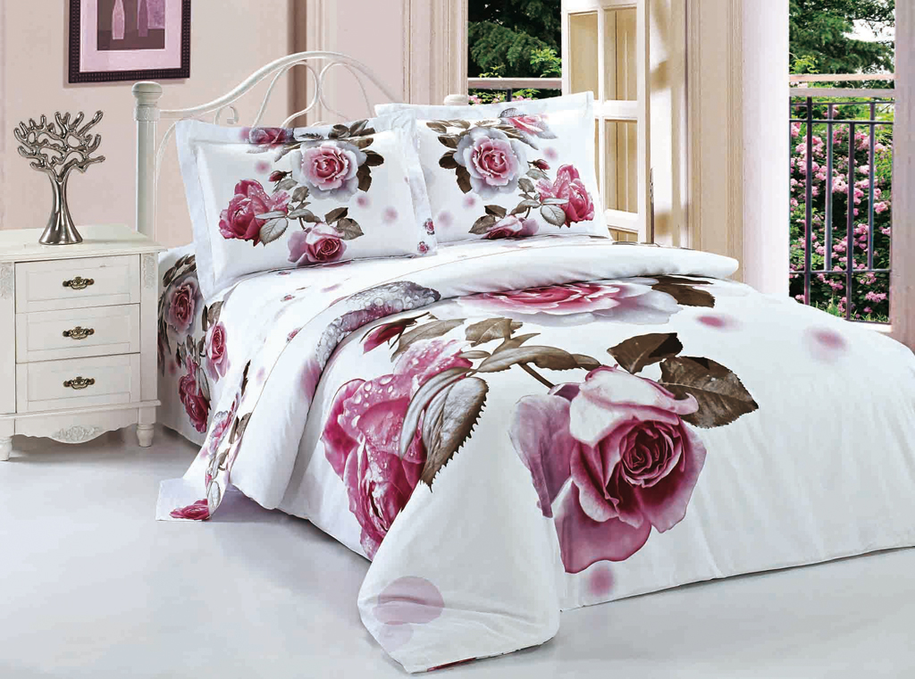 Розы постельное белье