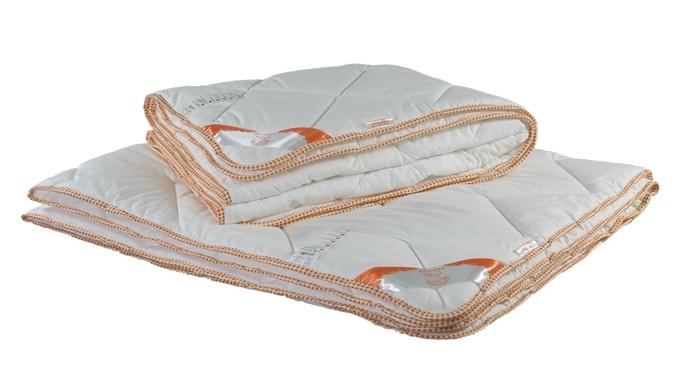 Комплект из 2-х одеял: Одеяло Giraffe (жираф) стёганое 2в1, ткань верха - хлопок, 172x205см, Одеяла синтетическое волокно, Самсон