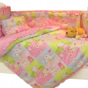 Постельное белье детское в кроватку своими руками, шьем самостоятельно