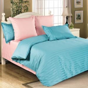 Однотонное постельное белье с компаньоном