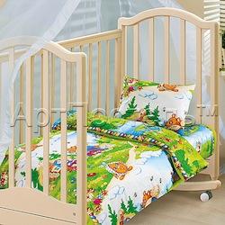 Выбор постельного белья для новорожденного малыша