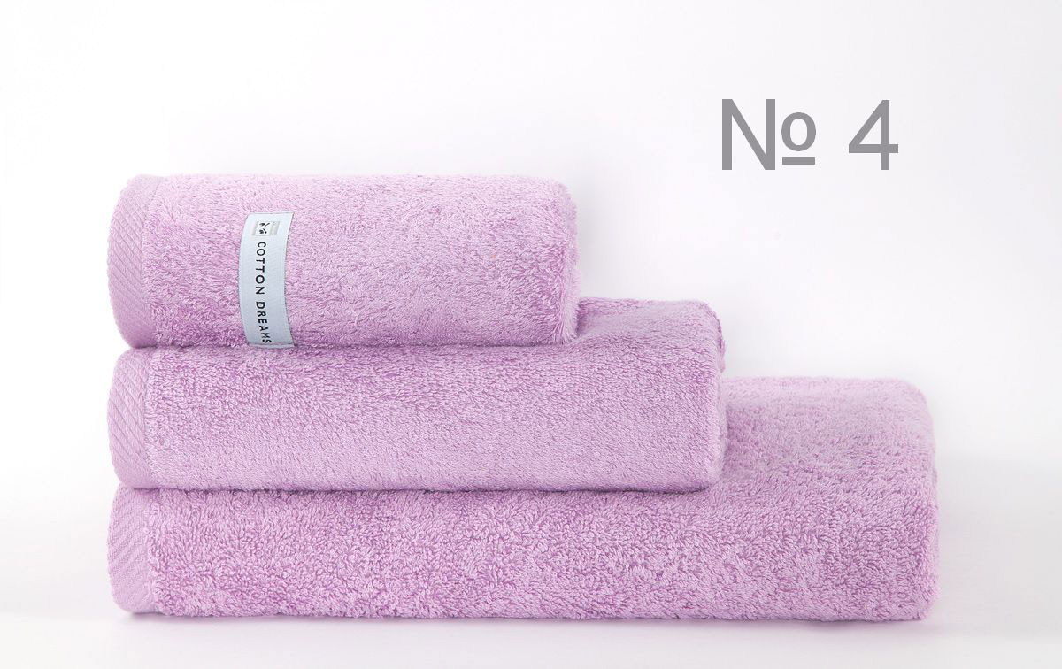Полотенце бамбук CD Bourgeois Nouveau - цвет VIOLET (N4), Банные полотенца: бамбуковые, махровые. Детские и для взрослых, Коттон Дримс