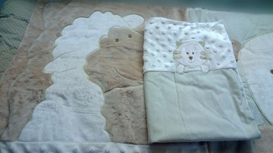 Сшить одеяло для новорожденного на синтепоне 40