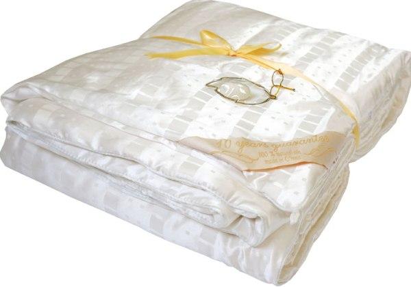 Купить одеяло из натурального шелка китай